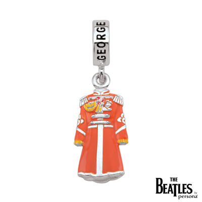 The Beatles: 925 Sterling Silver Sgt. Pepper George Harrison Jacket Charm