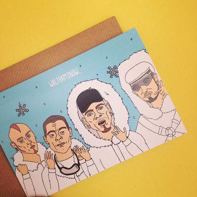 East 17: East 17 Christmas Card