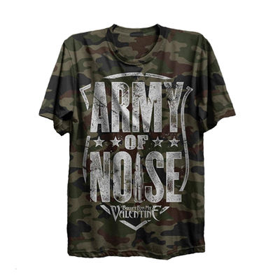 Bullet For My Valentine: Army of Noise Camo T-Shirt
