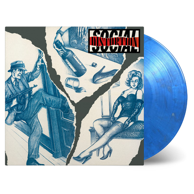 Social Distortion: Social Distortion: Limited Blue & Silver Swirl Vinyl