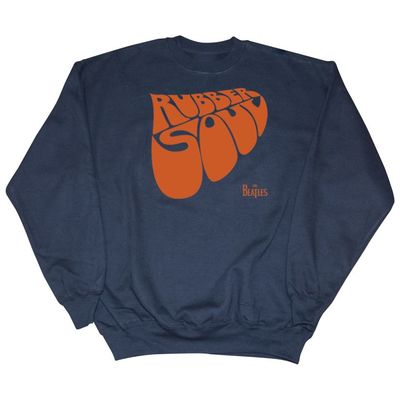 The Beatles: Rubber Soul Sweatshirt Navy