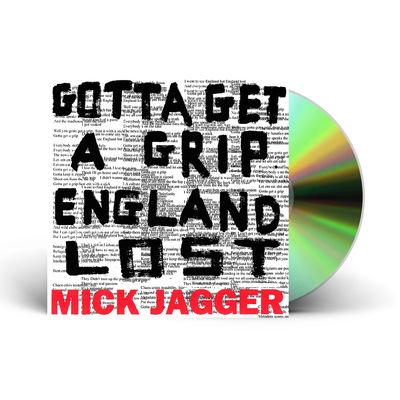 Mick Jagger: Gotta Get A Grip / England Lost CD Single