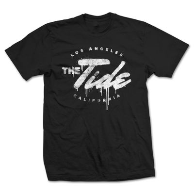 The Tide: Spray Logo Tee