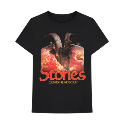 The Rolling Stones: GOATS HEAD SOUP GOAT HEAD T-SHIRT