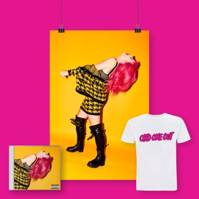 Girli: CD, Print & Tee Bundle (Signed)