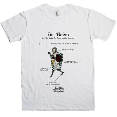 Monty Python: Holy Grail Sir Robin T-Shirt