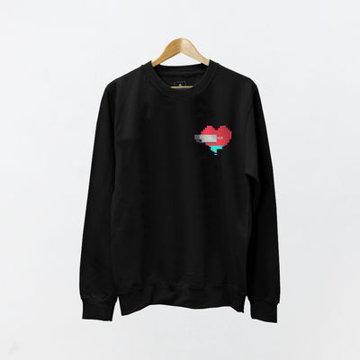 Bastille: Other Peoples Heartache PT.4 Heart Sweatshirt