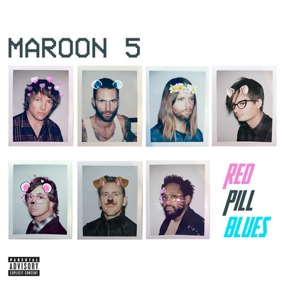 Maroon5: Red Pill Blues CD