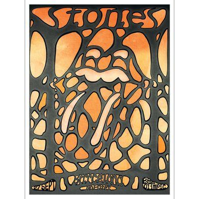 The Rolling Stones: Barcelona Print