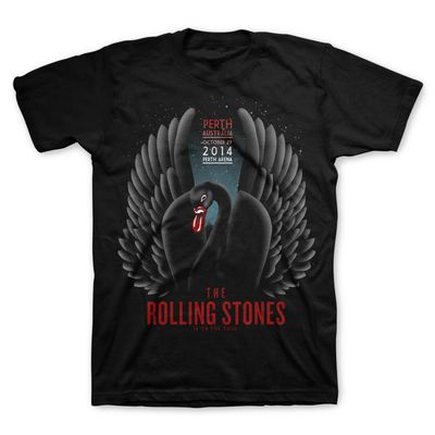 The Rolling Stones: Black Swan: Perth Limited Edition Event T-Shirt