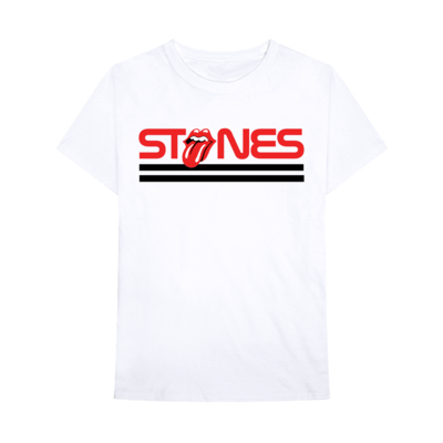 The Rolling Stones: Rolling Stones Rock White T-Shirt
