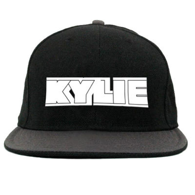 Kylie Minogue: Black Snap Back Cap with Logo