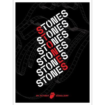The Rolling Stones: Dusseldorf Print
