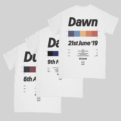 S.G. Lewis: Dusk, Dark & Dawn T-Shirt Bundle
