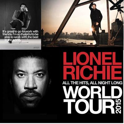 Lionel Richie: 2015 Tour Programme