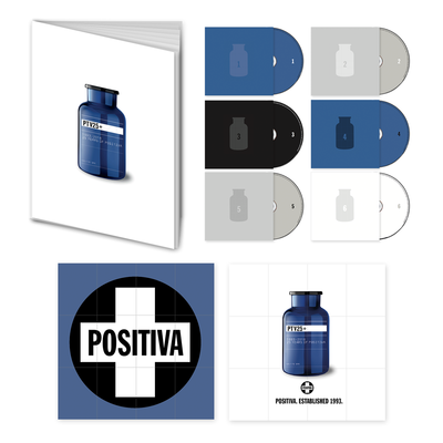 Positiva: POSITIVA 25: DELUXE 6CD COLLECTORS BOX SET