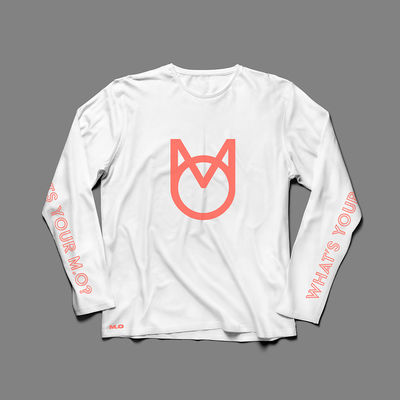 M.O.: What's your M.O? White Longsleeve
