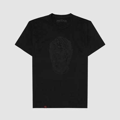 Eric Prydz: Pryda Head 'Black on Black' T-Shirt