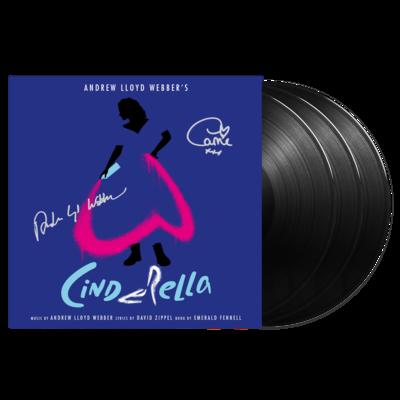 Andrew Lloyd Webber: ANDREW LLOYD WEBBER'S Cinderella Triple Vinyl Set - Limited Edition Signed by Andrew Lloyd Webber & Carrie Hope Fletcher