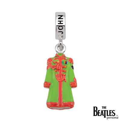 The Beatles: 925 Sterling Silver Sgt. Pepper John Lennon Jacket Charm