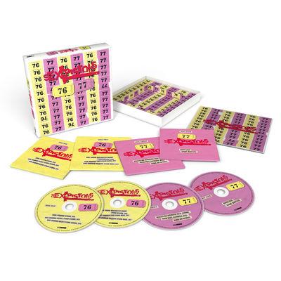 Sex Pistols: 76-77: Limited Edition 4CD Box Set