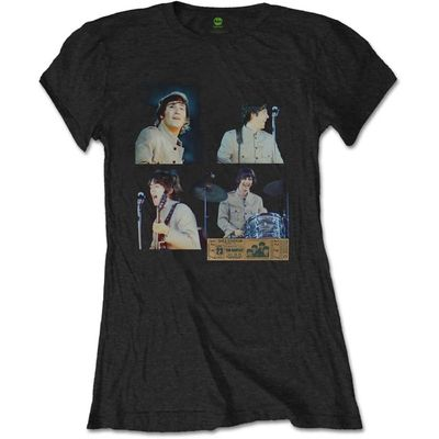 The Beatles: Shea Stadium Shots Womens T-Shirt