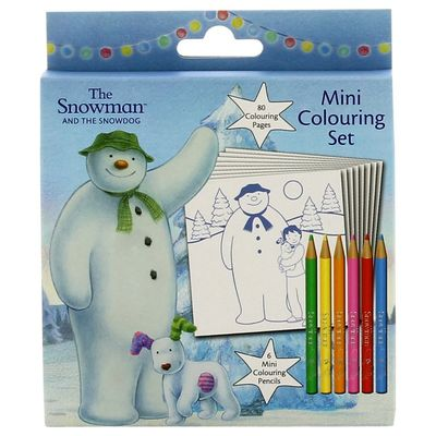 The Snowman: The Snowman Mini Colouring Set