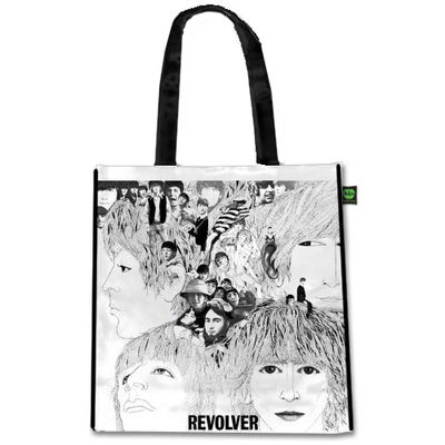 The Beatles: Revolver (Shiny Version) Tote Bag
