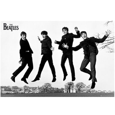 The Beatles: Jump 2 Poster