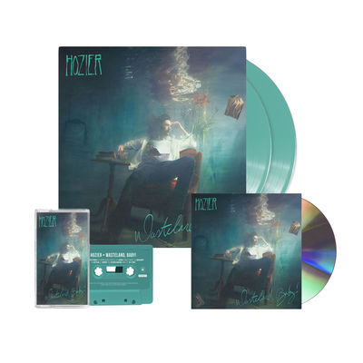 hozier: WASTELAND, BABY! EXCLUSIVE COLOURED LP, CD & CASSETTE