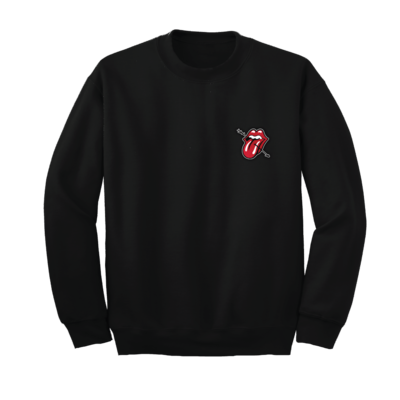 The Rolling Stones: Stones Love Embroidered Crewneck