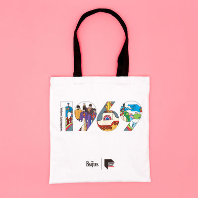 Abbey Road Studios: The Beatles Yellow Submarine 1969 Tote
