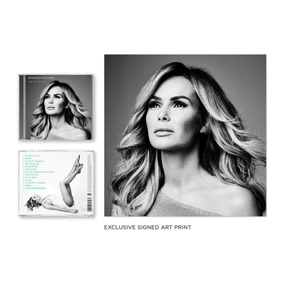 Amanda Holden: Songs From My Heart Signed CD and Exclusive Signed Print