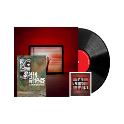 Chvrches: Screen Violence Vinyl, Fanzine & Signed Art Card