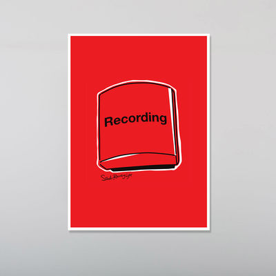 Abbey Road Studios: Abbey Road Red Recording Light Poster