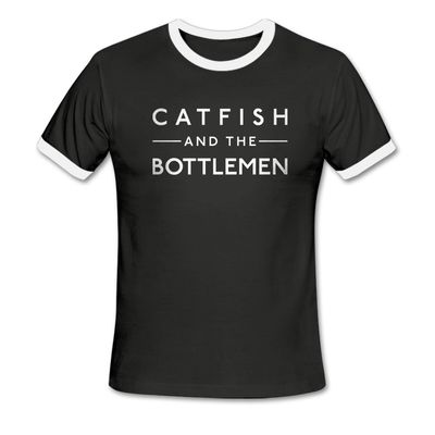 Catfish And The Bottlemen: Logo Ringer T-Shirt