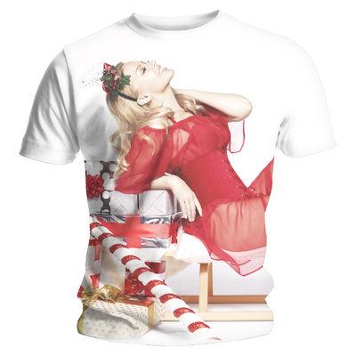 Kylie Minogue: Full Print Christmas Tee