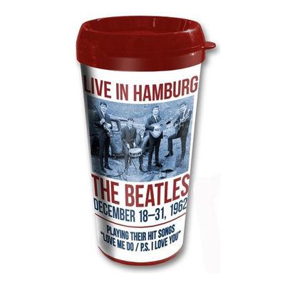The Beatles: The Beatles 1962 'Live In Hamburg' Travel Mug