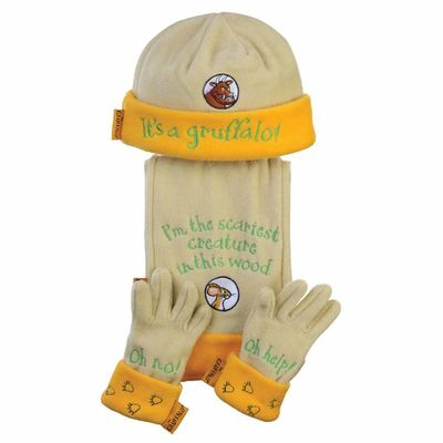 The Gruffalo: Gruffalo Hat, Glove and Scarf