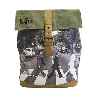 The Beatles: Beatles Green Abbey Backpack