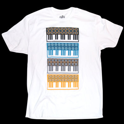 Ubiquity Records: Keyboard Pattern T-Shirt