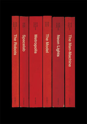 Kraftwerk: 'The Man-Machine' Album As Books Art Print