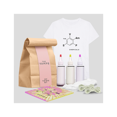 The Vamps: THE VAMPS CHEMICALS TIE DYE T-SHIRT KIT