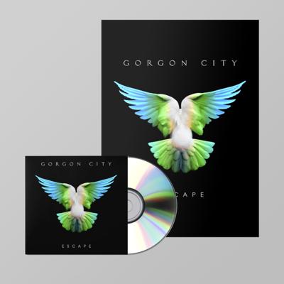 Gorgon  City: ESCAPE SIGNED CD + PRINT BUNDLE