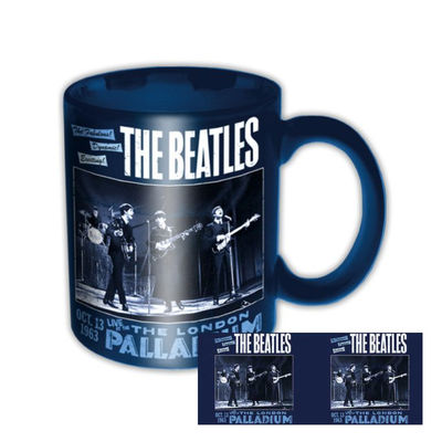 The Beatles: Palladium Navy Boxed Mug