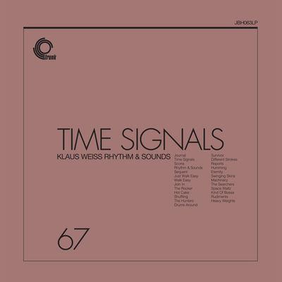 Klaus Weiss Rhythm & Sounds: Time Signals