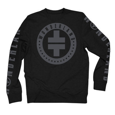takethat: TT Grey Logo Longsleeve Top