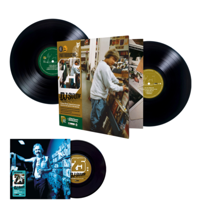 DJ Shadow: Endtroducing – 25 (Abbey Road Half Speed Master) + The Number Song (Cut Chemist Remix) / Endtroducing: Drums , Drops & Scratches 7