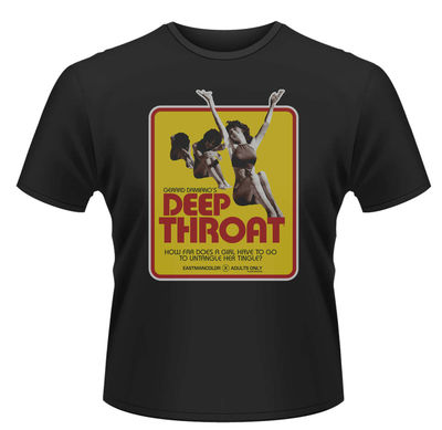 Deep Throat: Poster T-Shirt