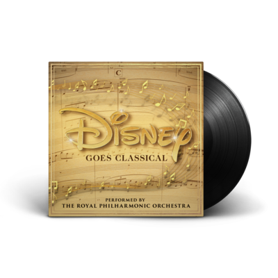 The Royal Philharmonic Orchestra: Disney Goes Classical LP